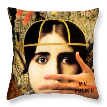 Control Throw Pillow by Desiree Paquette