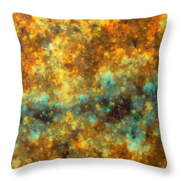 Contusion-01 Throw Pillow by RochVanh