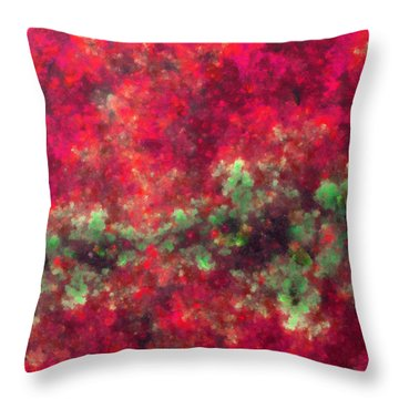 Contusion-03 Throw Pillow by RochVanh