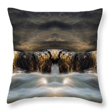 Convergence  Throw Pillow by Bob Orsillo