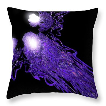 Convergence By Jammer Throw Pillow by First Star Art