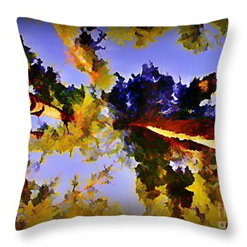 Convergent Perspective Throw Pillow by John Malone Halifax Artist