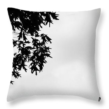 Conversation With God Throw Pillow