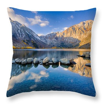Convict Lake 2 Throw Pillow