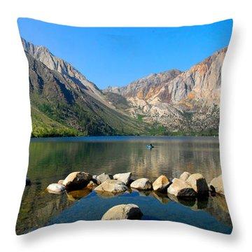 Convict Lake Panorama Throw Pillow