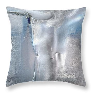 Cool Azure 2 Throw Pillow