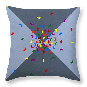 Cool Beans 4 Throw Pillow
