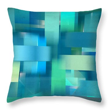 Cool Breeze Throw Pillow by Lourry Legarde