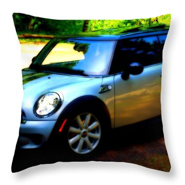 Cool Cooper Sport Throw Pillow