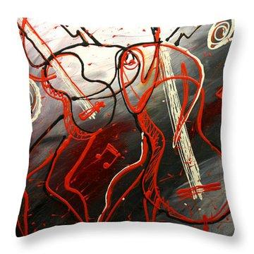 Cool Jazz 2 Throw Pillow