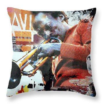 Cool Jazz Throw Pillow