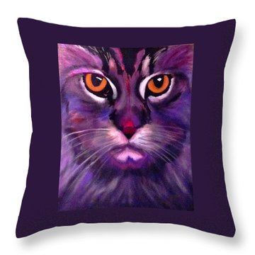 Cool Maine Coon Throw Pillow