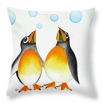 Cool Throw Pillow by Oiyee At Oystudio
