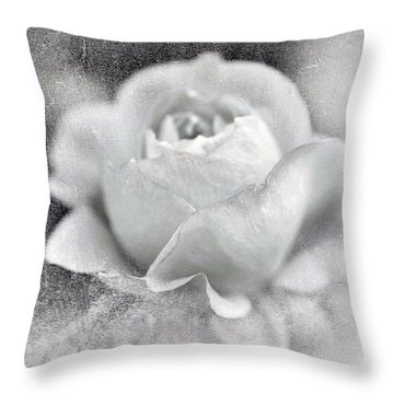 Throw Pillow featuring the photograph Cool Rose by Annie Snel