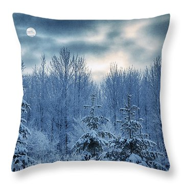 Cool Sunrise Throw Pillow