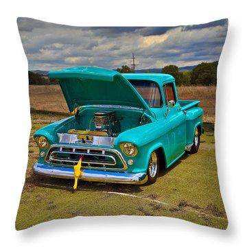 Cool Truck Throw Pillow