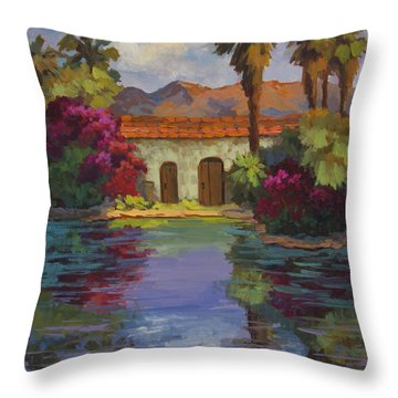 Cool Waters 2 Throw Pillow