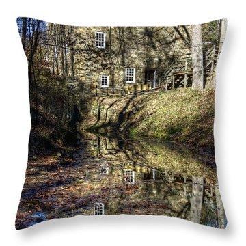 Cooper Grist Mill Throw Pillow