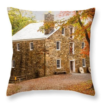 Cooper Gristmill Throw Pillow