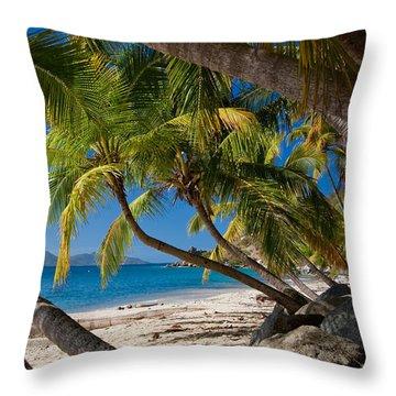Cooper Island Throw Pillow