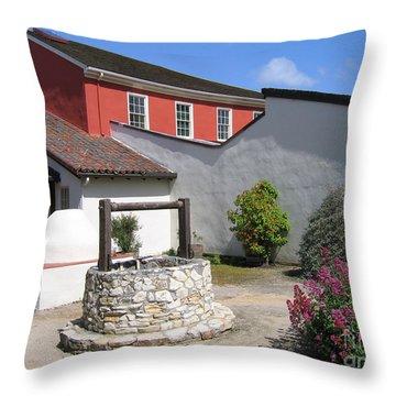 Cooper-molera Adobe Throw Pillow