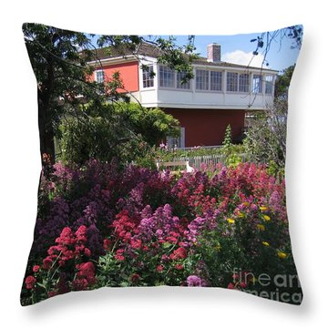 Cooper-molera Garden Throw Pillow