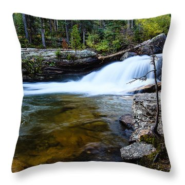 Copeland Falls Rockies Throw Pillow