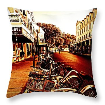 Copper And Rust Throw Pillow