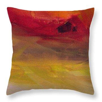 Copper Mist Throw Pillow by Robin Maria Pedrero