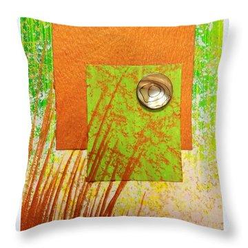 Copper Sunset Throw Pillow by Darren Robinson
