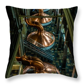 Copper Tops Throw Pillow