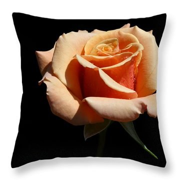 Throw Pillow featuring the photograph Coral Cup by Doug Norkum