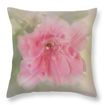 Throw Pillow featuring the photograph Coral by Elaine Teague