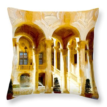 Coral Gables Series 01 Throw Pillow