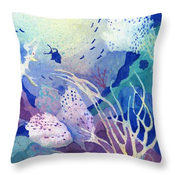 Coral Reef Dreams 4 Throw Pillow