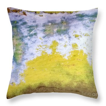 Throw Pillow featuring the photograph Coral Reef In Abstract Square by Lee Craig