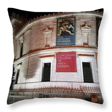 Corcoran Gallery Of Art Throw Pillow