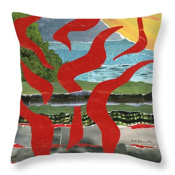 Core Passion Rising Throw Pillow