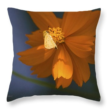 Coreopsis Throw Pillow