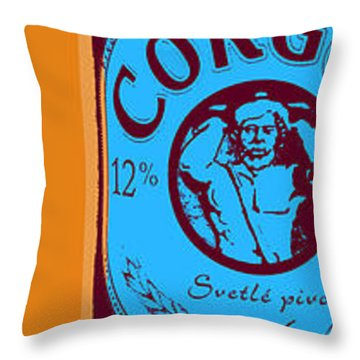 Corgon Throw Pillow