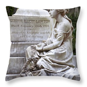 Corinne Throw Pillow by Kenneth Albin