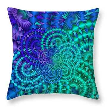 Coriolis Throw Pillow