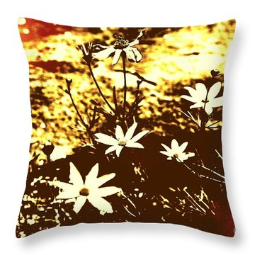 Coriopsis Throw Pillow