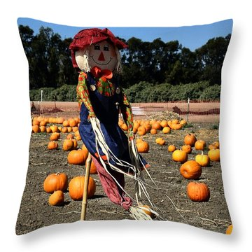 Throw Pillow featuring the photograph Corn Mom by Michael Gordon