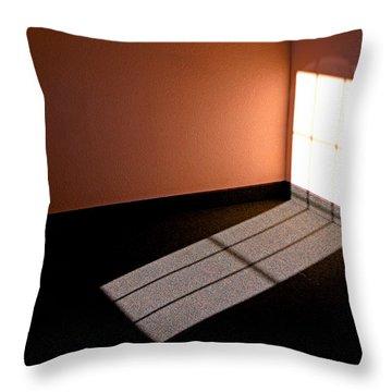 Corner Illumination Throw Pillow by Christopher McKenzie
