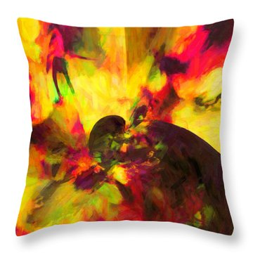 Throw Pillow featuring the digital art Corner Of Discovery by Joe Misrasi