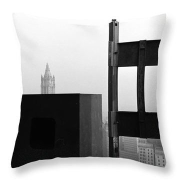 Corner Section Tower 1 Throw Pillow