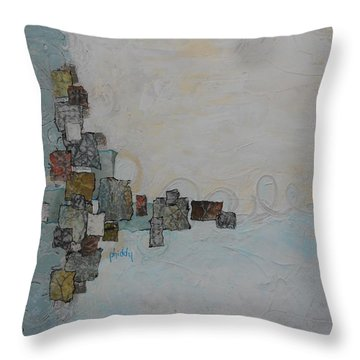 Corners 2 Throw Pillow