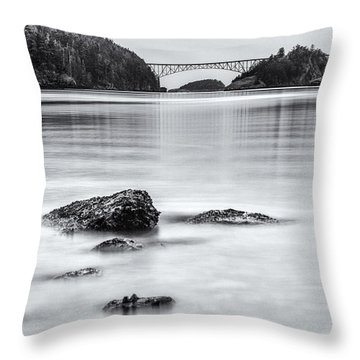Cornet Bay Throw Pillow
