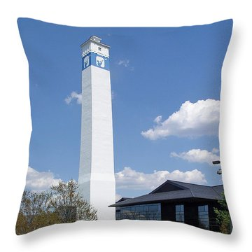 Corning Little Joe Tower 3 Throw Pillow